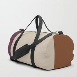 Contemporary Color Block VI Duffle Bag