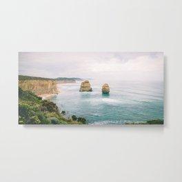 Aussie mystery coast Metal Print