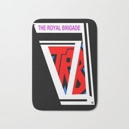 THE ROYAL BRIGADE ...logo plain colors Bath Mat
