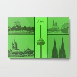 Kölner Dom Metal Print