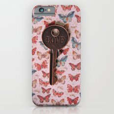 Love Key with Butterflies 2 Slim Case iPhone 6s