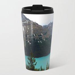 Peyto Lake Panorama Travel Mug