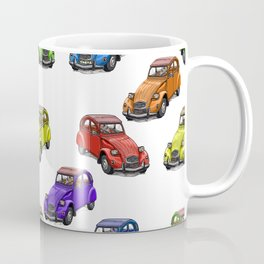 2cv pattern small Coffee Mug