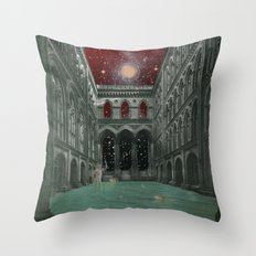 atmosphere 30 · Electric Requiem Throw Pillow
