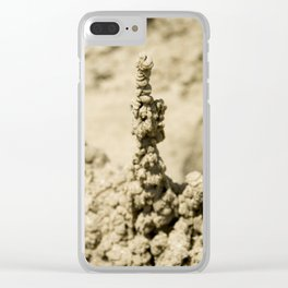 Sand Castle 2 Clear iPhone Case