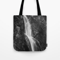 Waterfall in Hell Gorge, Slovenia Tote Bag