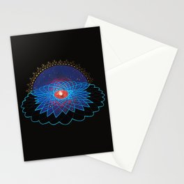 Loving Kindness Meditation Print Stationery Cards