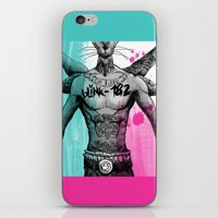 blink 182 iPhone & iPod Skins featuring Blink 182 Untitled 10 Year Anniversary  by Punkemon