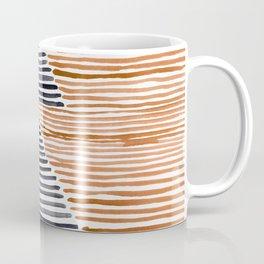 Rosario Watercolor Print in Burnt Orange Coffee Mug