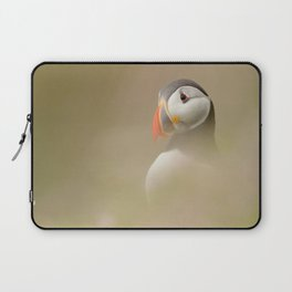 Portrait of Puffin Laptop Sleeve