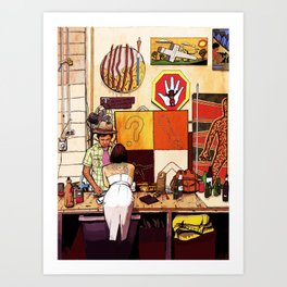 Blakspot Redfern Art Print