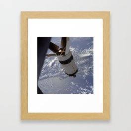 Apollo 7 - Saturn V over Cape Canaveral Framed Art Print