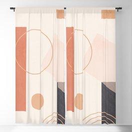 Minimal Geometric 92 Blackout Curtain