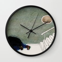 The Monster Series (6/8) Wall Clock