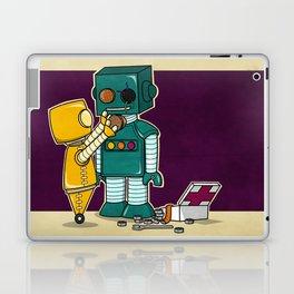Robots on Friendship Laptop & iPad Skin