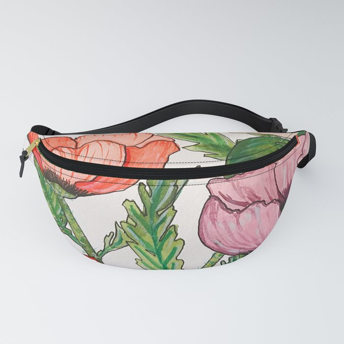 Oriental Poppies Fanny Pack