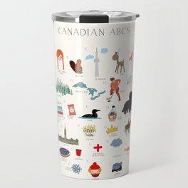 Canadian ABCs Travel Mug