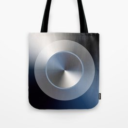 Serene Simple Hub Cap in Blue Tote Bag