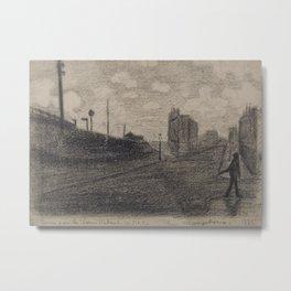 Rue Vercingétorix Metal Print