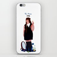 nan lawson iPhone & iPod Skins featuring nan by quentinschall