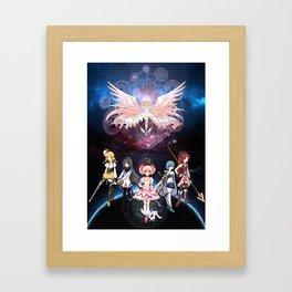 Madoka Magica Framed Art Print
