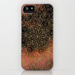 Dusk Mandala iPhone Case