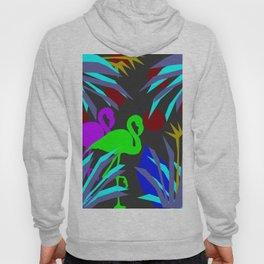 Flamingo jungle negative Hoody