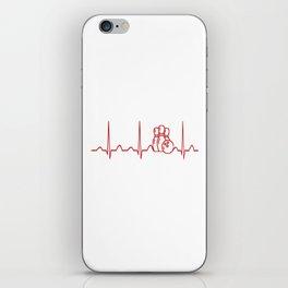 BOWLING HEARTBEAT iPhone Skin