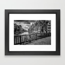AMSTERDAM Emperors canal Framed Art Print