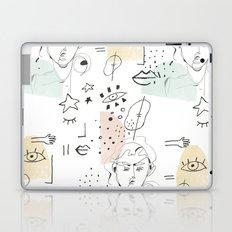 minimal summer Laptop & iPad Skin