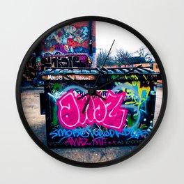 Amazed Grafitti Wall Clock