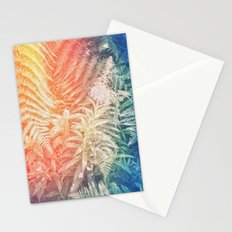 Fern and Fireweed 03 - Retro (everyday 07.01.2017) Stationery Cards