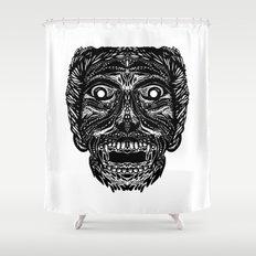 Dracula Shower Curtain