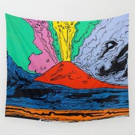 Vesuvius (HQ) Wall Tapestry
