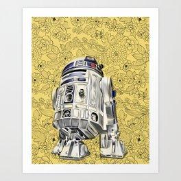 R2D2 from StarWars Art Print