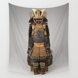 Historical Samurai Armor Photograph (17th-18th Century) Wall Tapestry