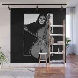 Symphony of Death (Cello) Wall Mural