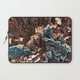 A tree asking, would you explore with me? Laptop Sleeve