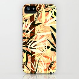 Bamboo. iPhone Case