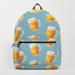 Ice Cold Beer Pattern Backpack