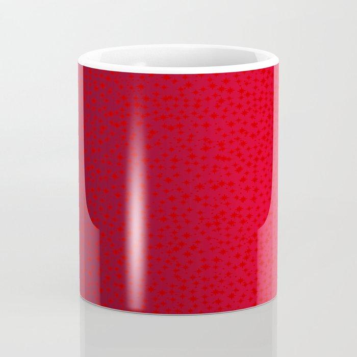 Red Star Background Coffee Mug