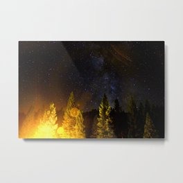 Star Flare Metal Print