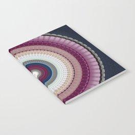 Decorative Wine Dark Blue Mandala Notebook