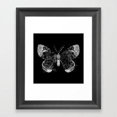 Butterfly Wanderlust Framed Art Print