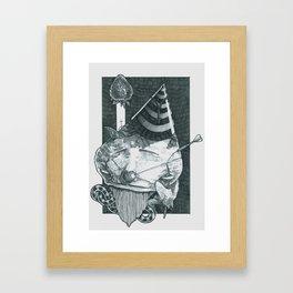 The ill happenings of Jiminny Death Framed Art Print