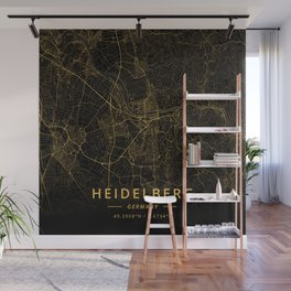 Heidelberg, Germany - Gold Wall Mural