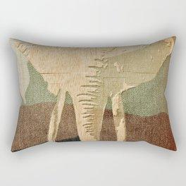 Elephant in the Jungle Camouflage Rectangular Pillow