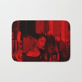 Niccki Minaj - Celebrity (Florescent Color Technique) Bath Mat