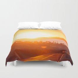 Hawaii Kai Sunset Duvet Cover
