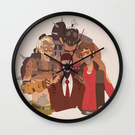 what spy hates the most Wall Clock